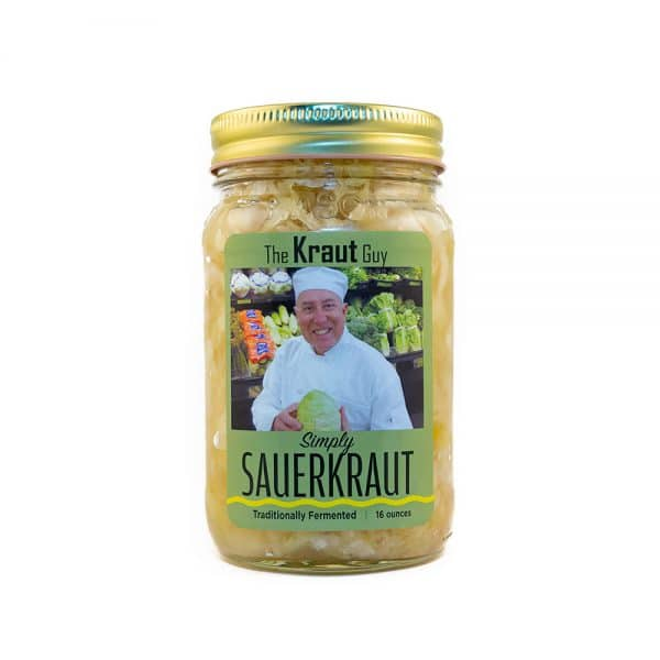 The Kraut Guy - Simply Sauerkraut - Front